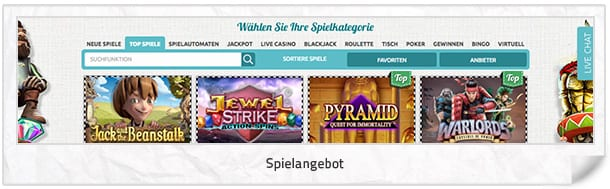 SpinStation Casino Spielangebot