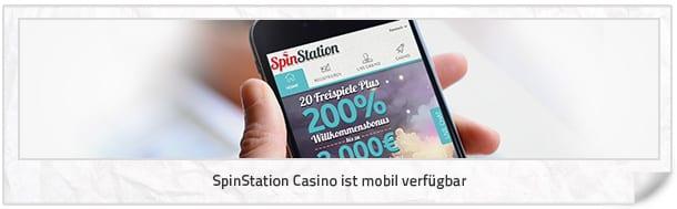 SpinStation Casino mobil