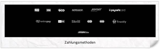 Spinit Casino Zahlungsmethoden