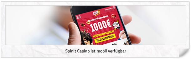 Spinit Casino mobil