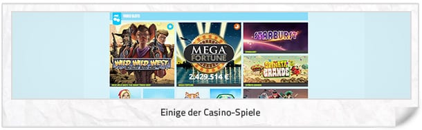 Casino JEFE Casino Spiele