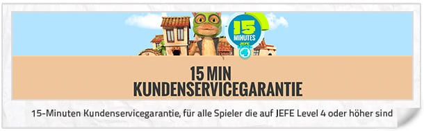 Casino JEFE Kundenservice