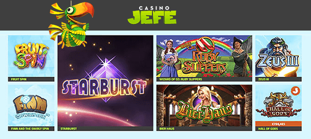 Casino JEFE Spiele