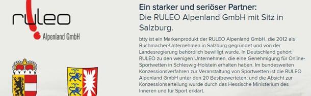 Btty ist durch das Innenministerium Schleswig-Holstein genehmigt
