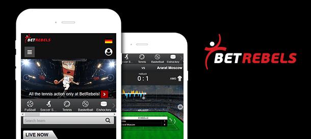 BetRebels Sportwetten App
