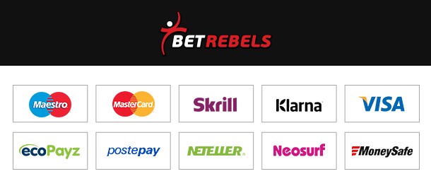 BetRebels Zahlungen