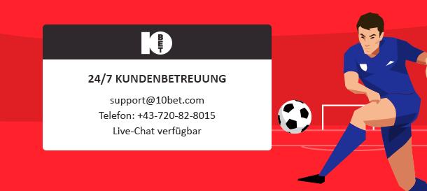 10Bet Sportwetten Support