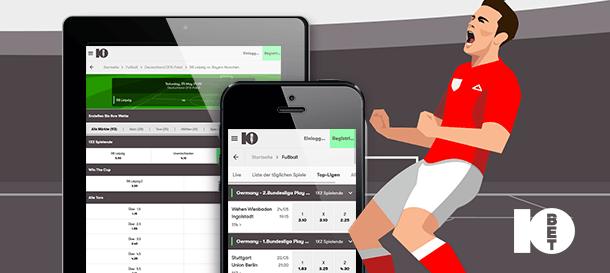10Bet Sportwetten App