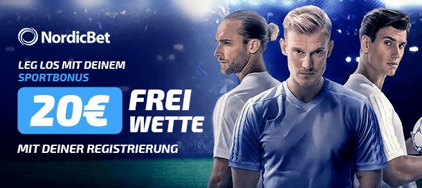 NordicBet Freiwette