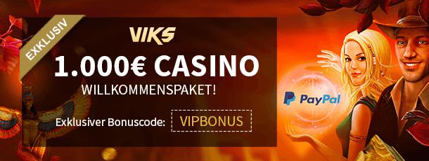 Viks Bonus Code VIPBONUS