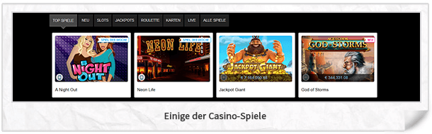 Casino Las Vegas Spiele