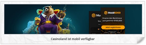 Casinoland mobile App