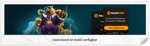Casinoland mobile App