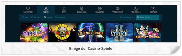 Casinoland Casino Spiele