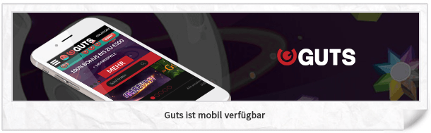 Guts Casino mobile App