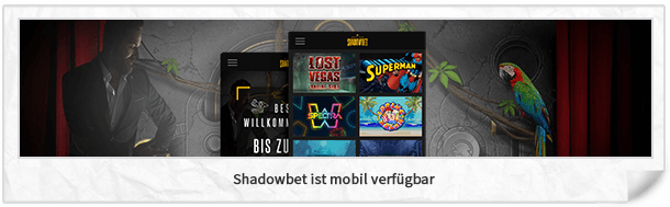 Shadowbet Casino mobile App