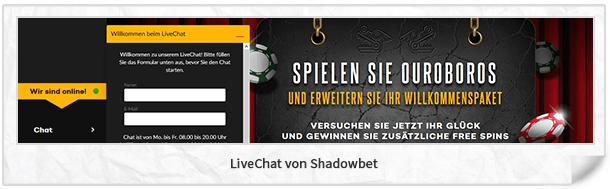Shadowbet Casino Kundenservice