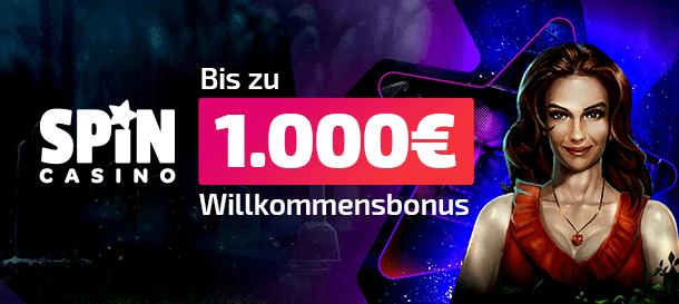 Spin Casino Willkommensbonus