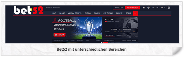 Bet-52 Website