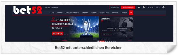 Bet-52 Website