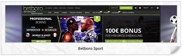 Betboro Website