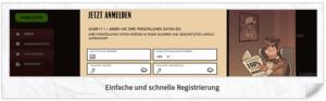 Joreels Registrierung