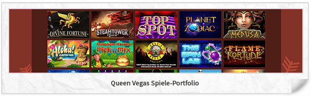 Queen Vegas Casinospiele