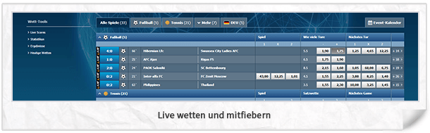 World Of Bets Wettprogramm