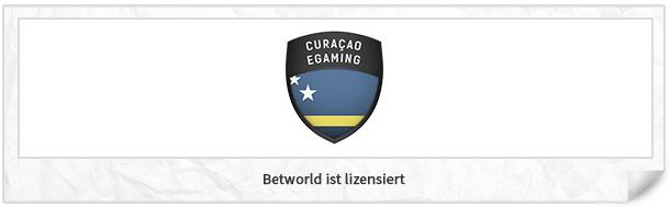Betworld Lizenz