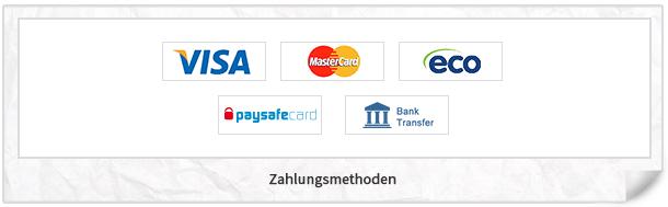 Betworld Zahlungsmethoden