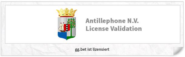 gg.bet Lizenz