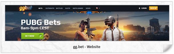 gg.bet Webseite