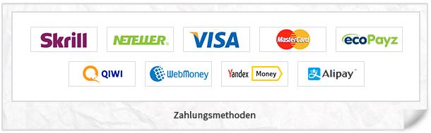 gg.bet Zahlungsmethoden