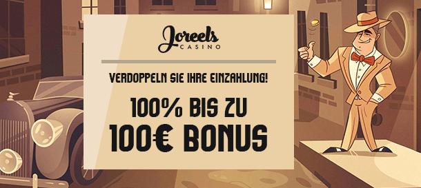 Joreels Casino Bonus 1