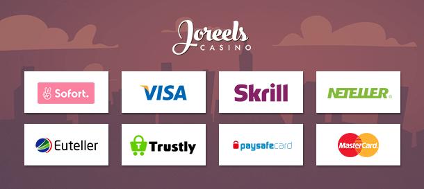 Joreels Casino Zahlungen