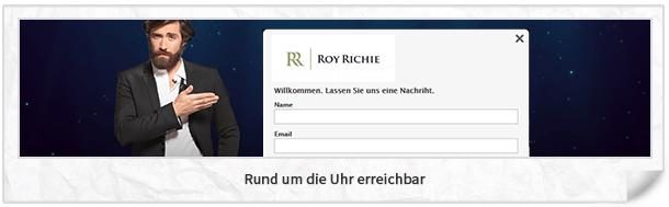 Roy Richie Kundenservice