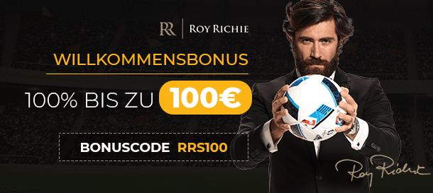 Roy Richie Neukunden Bonus