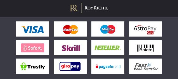 Roy Richie Zahlungen