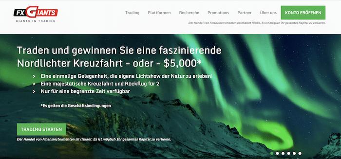 FXGiants Webseite