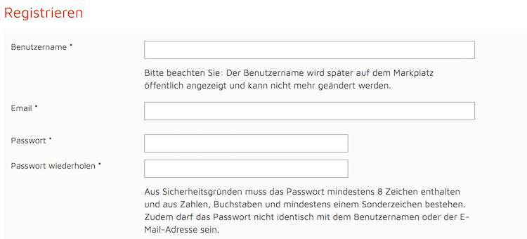 Bitcoin.de Kontoeröffnung