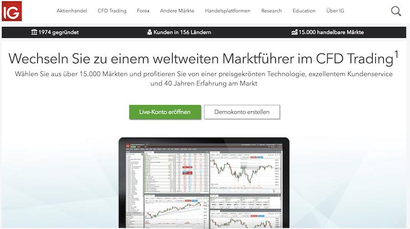 IG Homepage