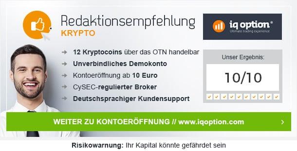 Kryptowährung Broker Vergleich von Betrug.org