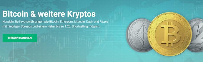XTB Kryptowährungen Handel