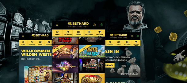 Bethard Casino App mobile