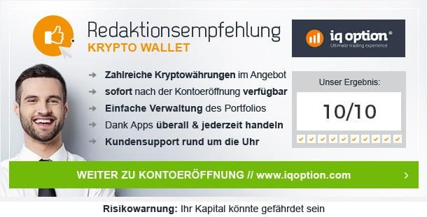 Kryptowährung Wallet Vergleich