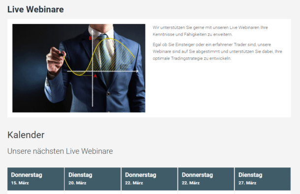 XTB Webinare