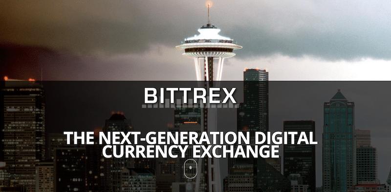 Bittrex Internetauftritt