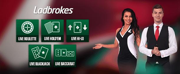 Ladbrokes Casino Livespiele