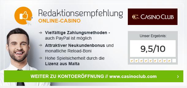 CasinoClub Bonus