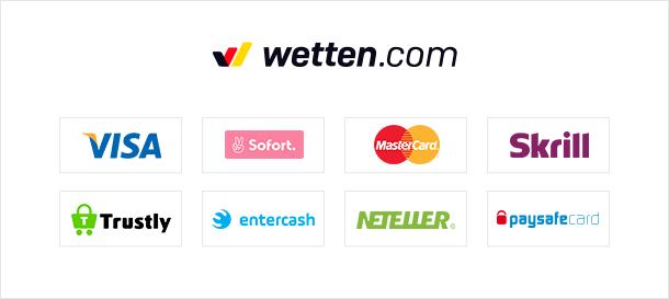 Wetten.com Casino Zahlungen